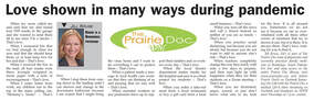 Prairie Doc Perspectives by Dr. Rick Holm
